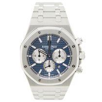 Audemars Piguet Royal Oak Chronograph Steel 41mm Blue No numerals United States of America, California, Los Angeles