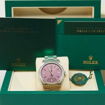 Rolex Oyster Perpetual 39 Steel 39mm Purple No numerals United States of America, California, Los Angeles