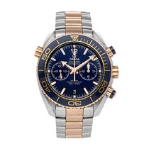 Omega Seamaster Planet Ocean Chronograph Steel 45mm Blue No numerals United States of America, Pennsylvania, Bala Cynwyd