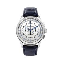 Jaeger-LeCoultre Master Chronograph Steel 40mm Silver United States of America, Pennsylvania, Bala Cynwyd