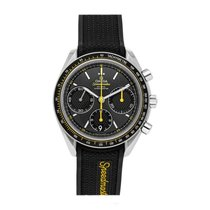 Omega Speedmaster Racing pre-owned 40mm Grey Chronograph Date Rubber