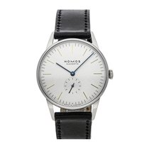 NOMOS Orion 38 Steel 38mm White No numerals United States of America, Pennsylvania, Bala Cynwyd