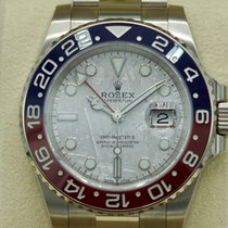 Rolex GMT-Master II White gold 40mm Grey No numerals United States of America, Massachusetts, Pittsfield