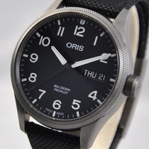 Oris Big Crown ProPilot Day Date Acier 45mm Noir