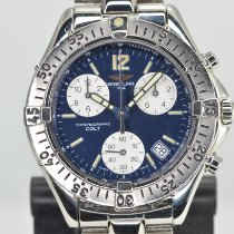 Breitling Colt Chronograph Steel 38mm Blue No numerals United States of America, California, Stockton