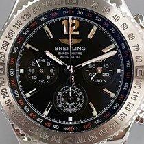 Breitling Hercules Acero 45mm Negro Sin cifras
