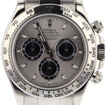Rolex Daytona Or blanc 40mm Gris Arabes Belgique, BRUXELLES