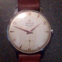 Lanco Steel 35mm Manual winding Lanco pre-owned