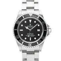 Rolex Sea-Dweller 4000 подержанные 40mm Черный Сталь