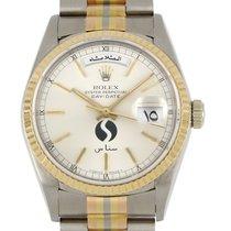 Rolex Day-Date 36 White gold 36mm No numerals
