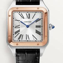 Cartier W2SA0017 Gold/Steel 2021 Santos Dumont 46.6mm new United States of America, Georgia, Alpharetta