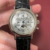 Breguet White gold Silver pre-owned Classique Complications