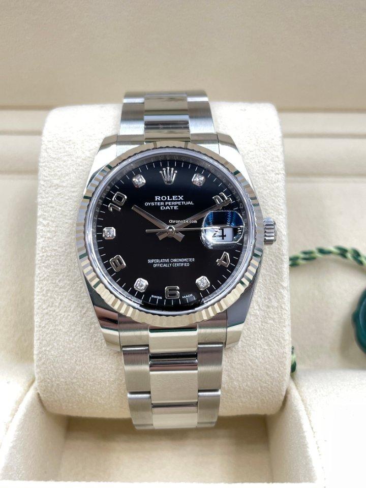 Rolex Oyster Perpetual Date 115234 2021 neu