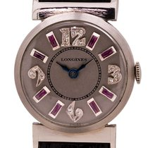 Longines Platinum Manual winding Silver 23mm pre-owned