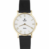 Rolex Cellini Yellow gold 32mm White Roman numerals United States of America, New York, Massapequa Park