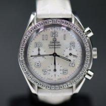 Omega Speedmaster Ladies Chronograph Acero 39mm Madreperla Arábigos