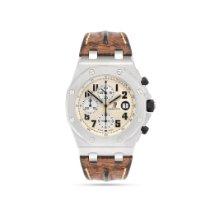 Audemars Piguet Royal Oak Offshore Chronograph Сталь 42mm Белый Aрабские