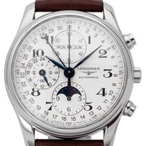 Longines Master Collection pre-owned 40mm Leather
