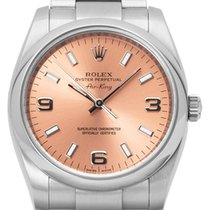 Rolex Air King 114200 Very good Steel 34mm Automatic