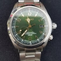 Seiko Spirit Steel 38mm Green Arabic numerals United States of America, Maryland, Silver Spring