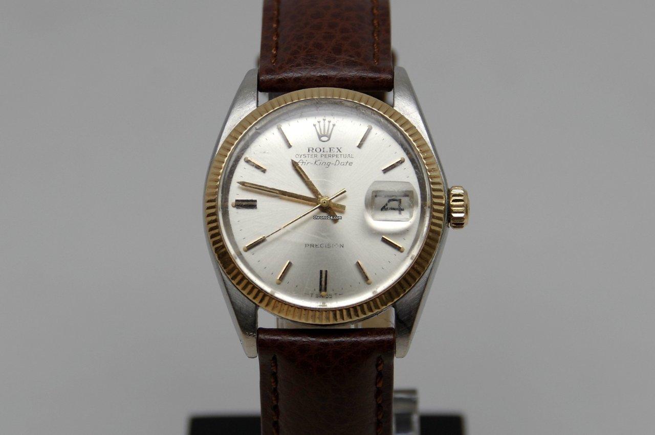 Rolex Air King Date 5701 1976 rabljen