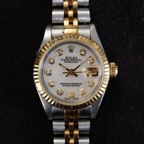 Rolex Lady-Datejust occasion Nacre Date Or/Acier