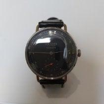 NOMOS Metro Neomatik pre-owned 35mm Blue Leather