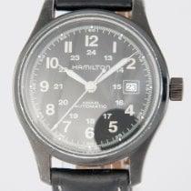 Hamilton Khaki Field Steel 40mm Black Arabic numerals