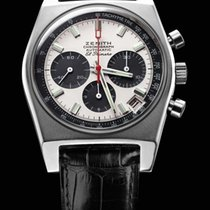 Zenith El Primero Steel 37mm White No numerals United States of America, California, Beverly Hills