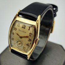Bulova Gold/Steel 25.2mm Manual winding Bulova Aviator pre-owned United States of America, Illinois, Roscoe