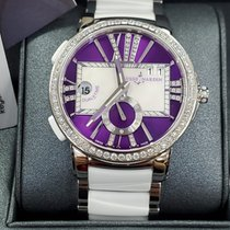 Ulysse Nardin Executive Dual Time Lady Steel Purple United States of America, New York, New York