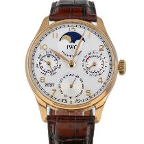 IWC Portuguese Perpetual Calendar Rose gold 42.3mm Silver Arabic numerals United States of America, Maryland, Baltimore, MD