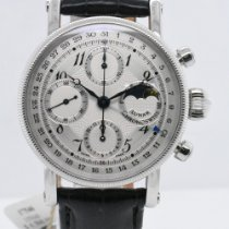 Chronoswiss pre-owned Automatic 38mm Silver Sapphire crystal 3 ATM