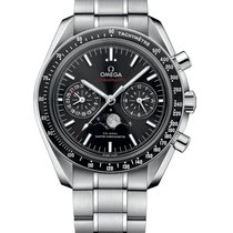 Omega 304.30.44.52.01.001 Acier 2021 Speedmaster Professional Moonwatch Moonphase nouveau