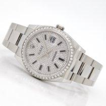 Rolex Datejust Stahl 36mm Silber (massiv) Keine Ziffern Deutschland, Rheinstetten - Karlsruhe
