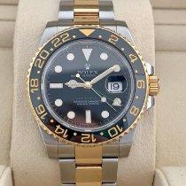 Rolex GMT-Master II Gold/Steel 40mm Black No numerals United States of America, Florida, hallandale