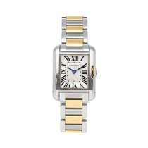 Cartier Tank Anglaise Steel 30.2mm Silver Roman numerals United States of America, Pennsylvania, Bala Cynwyd