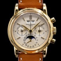 Patek Philippe Perpetual Calendar Chronograph Yellow gold 36mm United States of America, Massachusetts, Boston