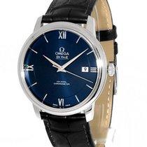Omega De Ville Prestige Stahl 39.5mm Blau Deutschland, Teuschnitz