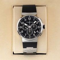 Ulysse Nardin Steel Automatic Black 43mm new Marine Chronograph