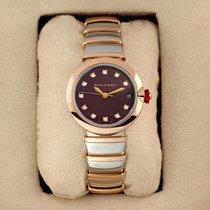 Bulgari Lucea Gold/Steel 33mm Purple United States of America, New York, Airmont
