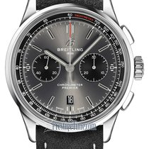 Breitling Steel 42mm Grey United States of America, New York, Airmont