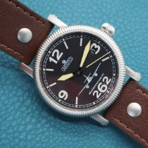 Aristo Steel 37mm Automatic 7H68 new
