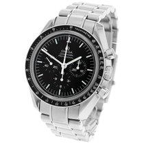Omega Speedmaster Professional Moonwatch usato 42mm Nero Cronografo Tachimetro Acciaio