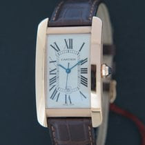 Cartier Tank Américaine nieuw 2021 Automatisch Horloge met originele doos en originele papieren W2609156