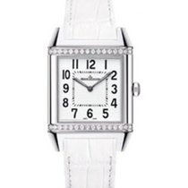 Jaeger-LeCoultre Reverso Squadra Lady Stahl 31,2mm Weiß Arabisch