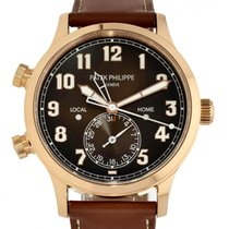 Patek Philippe Travel Time 5524R-001 New Rose gold 42mm Automatic
