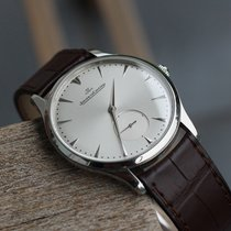 Jaeger-LeCoultre Master Ultra Thin Stahl 40mm Silber