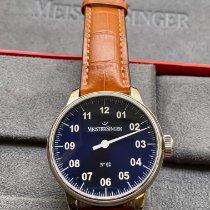 Meistersinger Steel 43mm Manual winding AM6608N new
