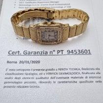Cartier Gelbgold 24mm Quarz 866930 neu
